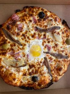 La pizza Cannibale du restaurant pizzeria grill le moulin à cherbourg