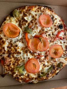 La pizza Vegetarienne du restaurant pizzeria grill le moulin à cherbourg